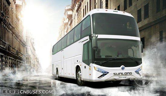 申龙SLK6129一层半大型旅游客运新选择