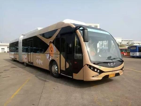 金华BRT1号线成全国新能源公交示范线路图片
