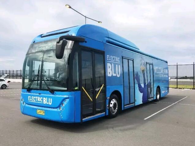 比亚迪纯电动巴士在悉尼机场运营