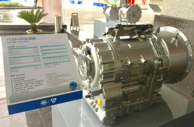 法士特FC6A180液力自动变速器