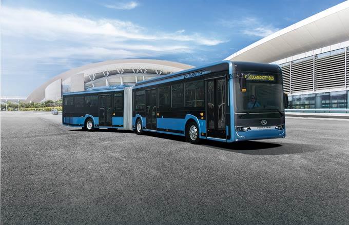 全新造型的18米铰接车