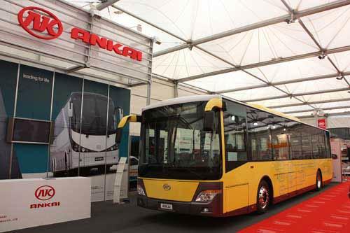 2009年,第20届比利时客车展上,安凯携全场唯一一款纯电动客车参展