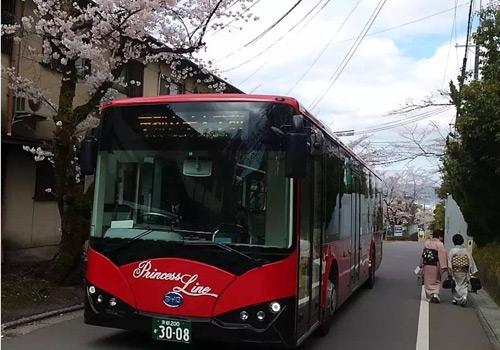 比亚迪纯电动大巴交付日本
