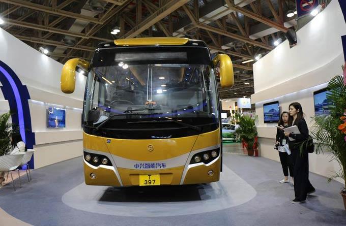 中兴公司为澳门市场定制的纯电动城市大巴